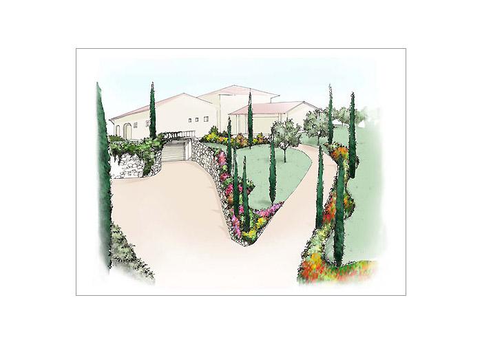 Realizzazione Giardini Moderni : Piantemati giardini progettazione e realizzazione giardini una